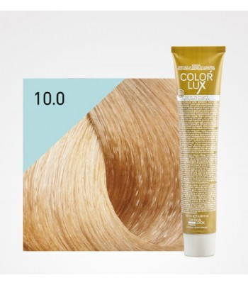 Vopsea profesionala pentru par blond platinat Color Lux 10.0 - 100 ml
