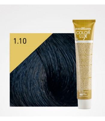 Vopsea profesionala pentru par negru albastrui Color Lux 1.10 - 100 ml