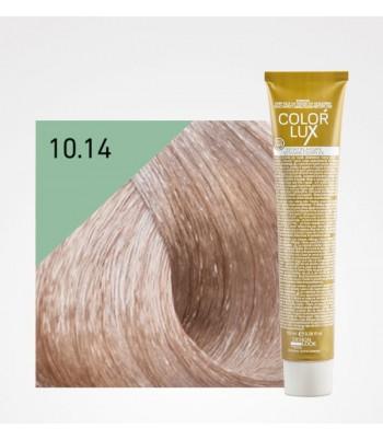 Vopsea profesionala pentru par migdala Color Lux 10.14 - 100 ml